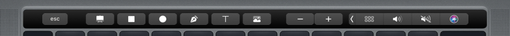 Insert Touch Bar